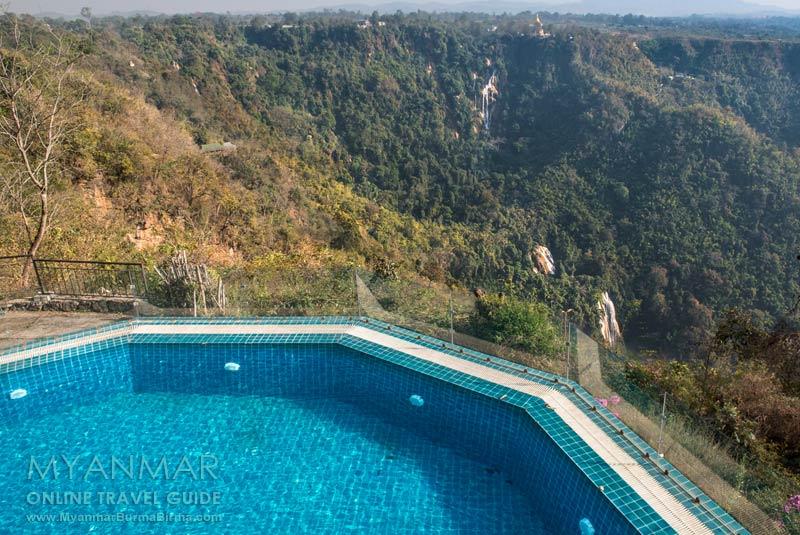 Myanmar Reisetipps | Pyin U Lwin | The View Resort mit Blick auf den Wasserfall Dat Taw Gyaint