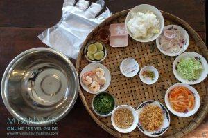Myanmar Reisetipps | Dawei | Im Ayinsa Gardens könnt ihr lernen wie Mohinga gekocht wird.