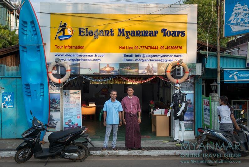 Myanmar Reisetipps | Dawei | Office vom Elegant Myanmar Tours