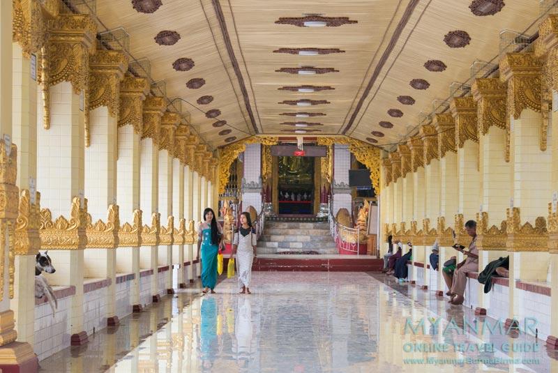 Myanmar Reisetipps | Dawei | Eingang zur Pagode Shwe Taung Sar
