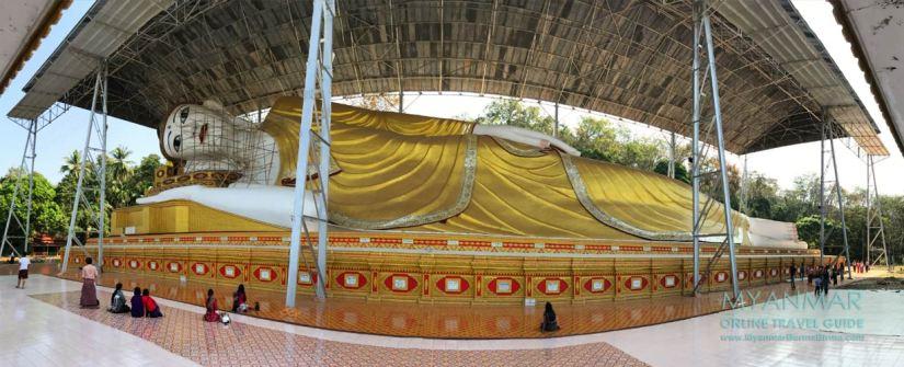 Myanmar Reisetipps | Dawei | Pagode Shwethalyaung Daw Mu