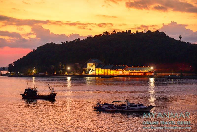 Myanmar Reisetipps | Myeik | Abendstimmung über der Andamanensee