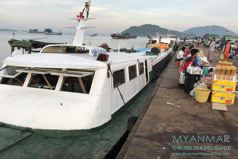 Myanmar Reisetipps | Myeik | Boot nach Thanintharyi