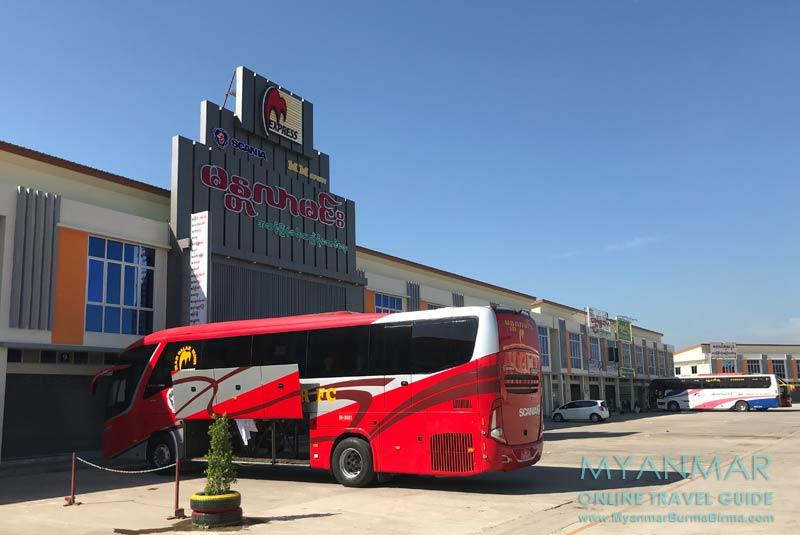 Myanmar Reisetipps | Myeik | Neuer Busbahnhof