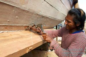 Myanmar Reisetipps | Myeik | Schiffswerft Kyaw Kyaw Phyo