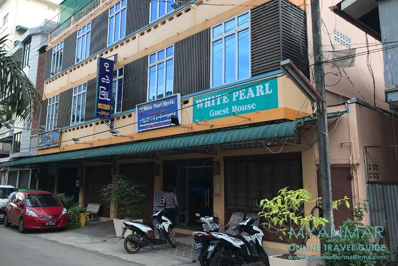 Myanmar Reisetipps | Myeik | White Pearl Guest House