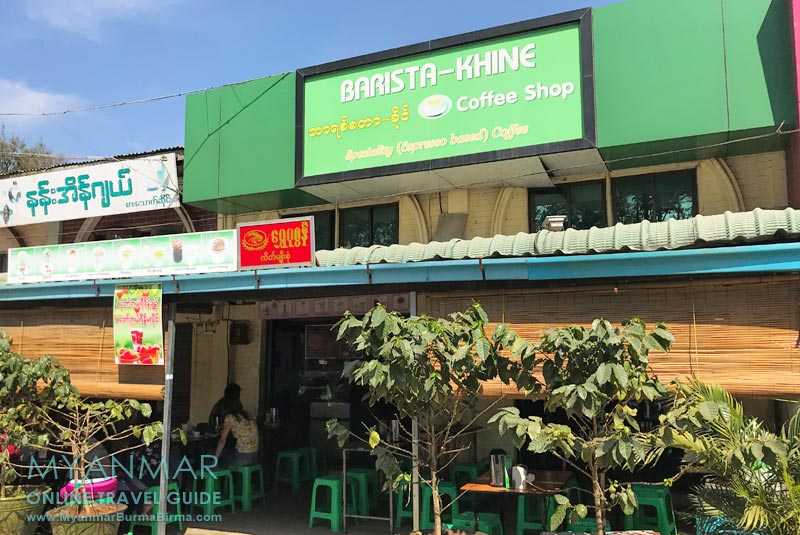 Myanmar Reisetipps | Pyin U Lwin | Barista-Khine Coffee Shop