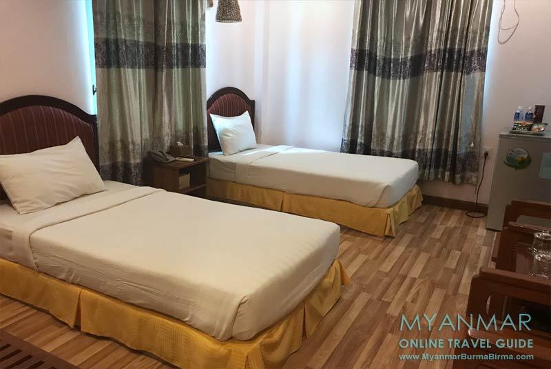 Myanmar Reisetipps | Monywa | Chindwin Hotel