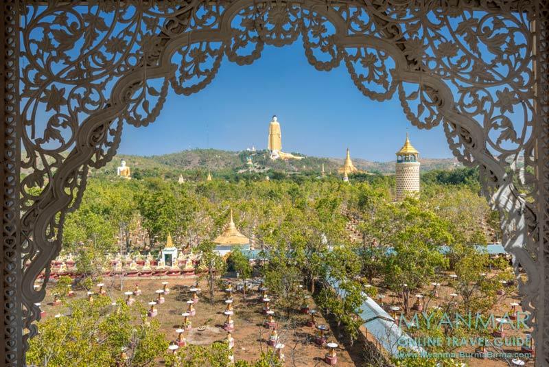 Myanmar Reisetipps | bei Monywa | Feld der 1.000 Buddhas