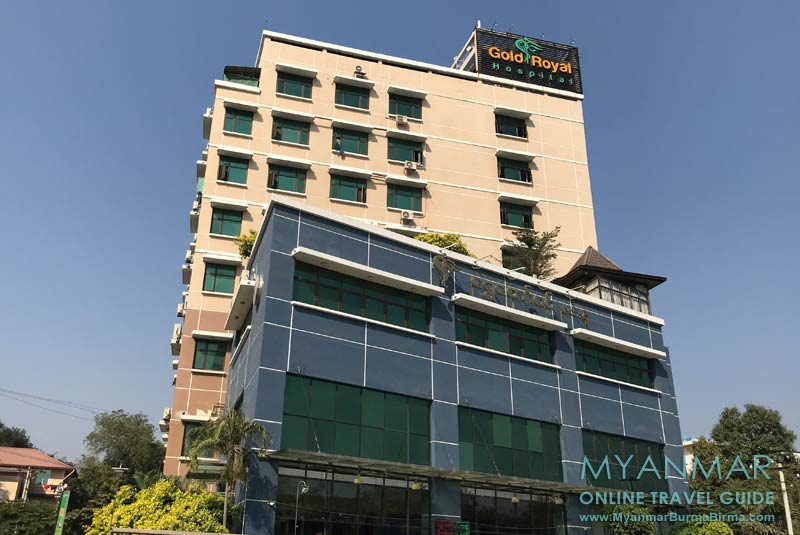 Myanmar Reisetipps | Monywa | Gold Royal Hospital