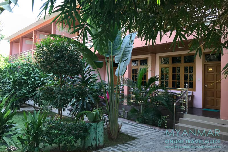 Myanmar Reisetipps | Monywa | Neubau im Monywa Hotel