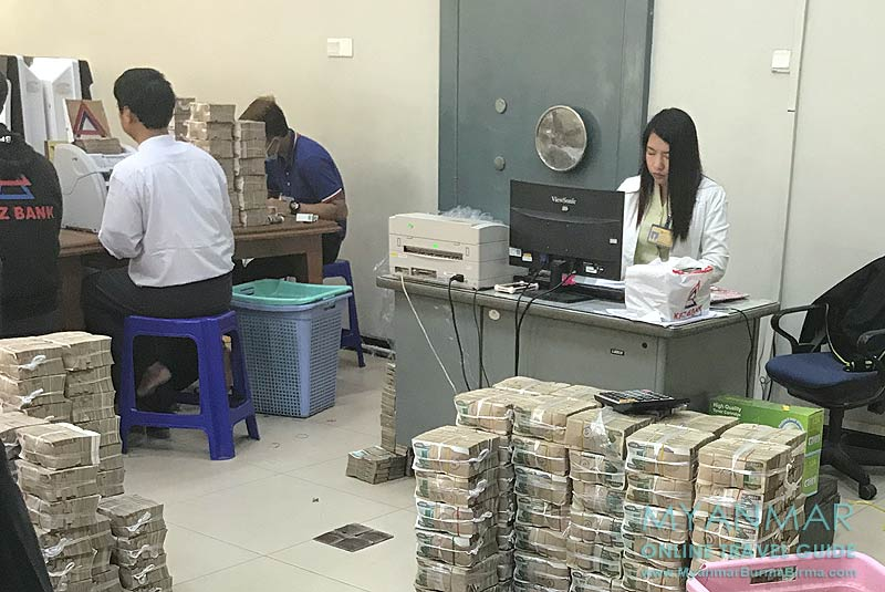 Myanmar Reisetipps | Monywa | KBZ Bank