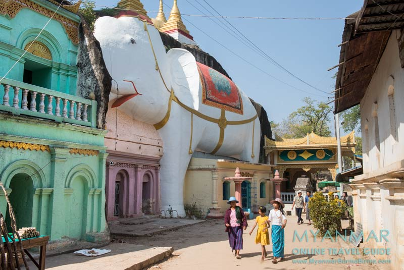 Myanmar Reisetipps | bei Monywa | Shweba Daung Höhle