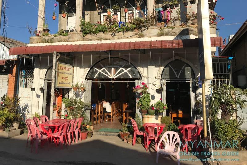 Myanmar Reisetipps | Kalaw | Everest Nepali Food Center