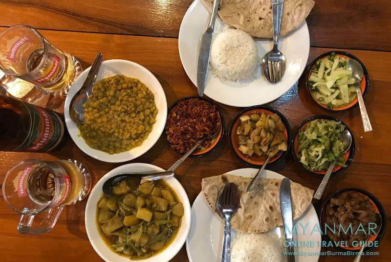 Myanmar Reisetipps | Essen im Everest Nepali Food Center