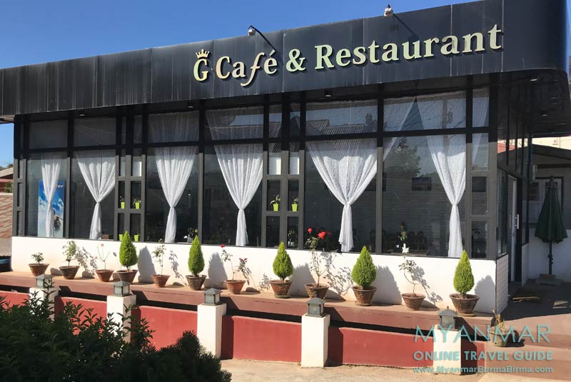 Myanmar Reisetipps | Gloria Cafe und Restaurant