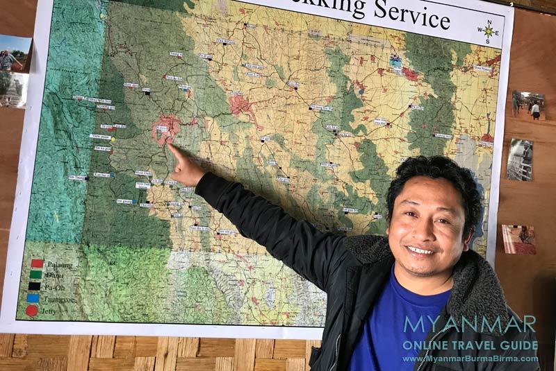 Myanmar Reisetipps | Kalaw | Ko Min Trekking Service