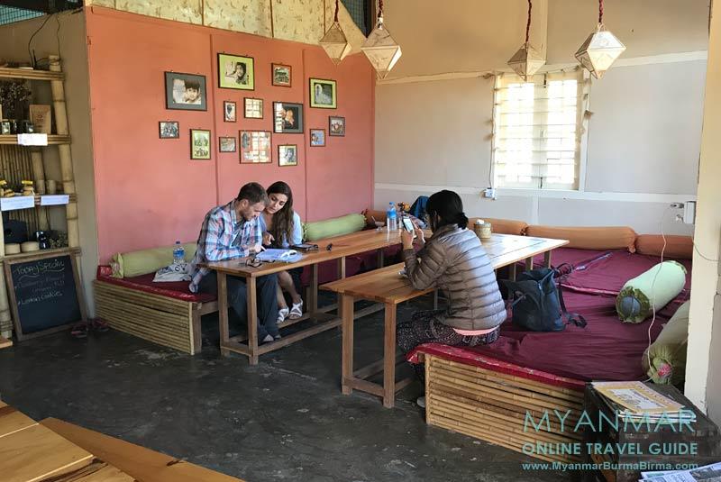 Myanmar Reisetipps | Kalaw | Vegetarisches Restaurant Sprouting Seeds