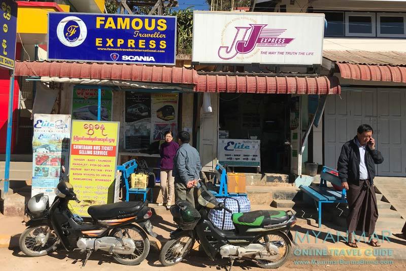 Myanmar Reisetipps | Hier gibt es Tickets für JJ Express.