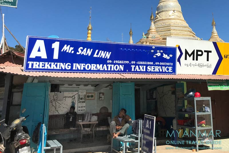 Myanmar Reisetipps | Kalaw | Trekkinganbieter A 1 Mr. San Linn