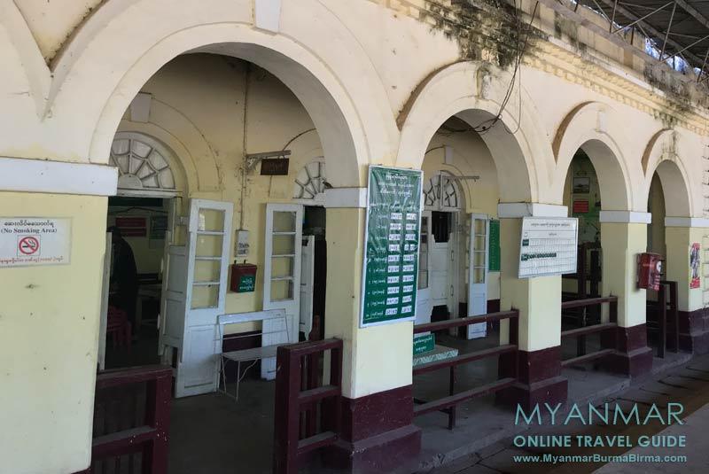 Myanmar Reisetipps | Thaton | Bahnhof in Thaton