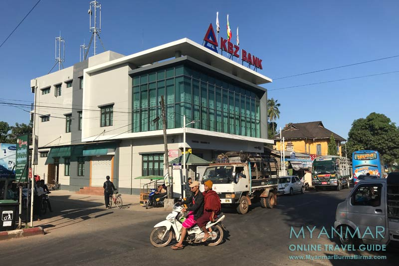 Myanmar Reisetipps | Thaton | KBZ Bank