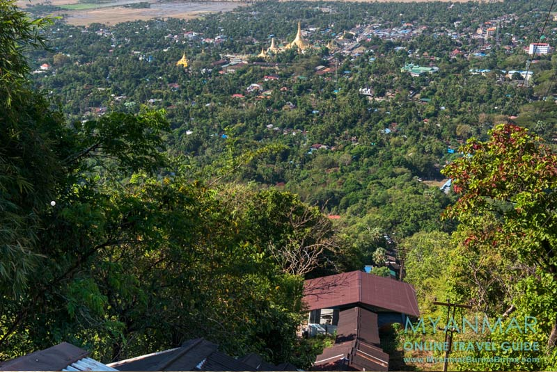 Myanmar Reisetipps | Thaton | Blick auf Thaton von der Myathapeik-Pagode