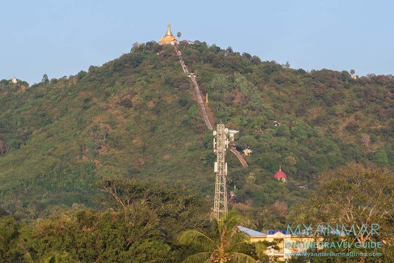 Myanmar Reisetipps | Thaton | Aufstieg zur Myathapeik-Pagode