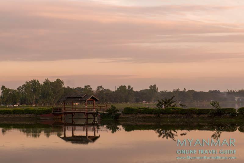 Myanmar Reisetipps | Toungoo | Brücke über den Kandawgyi-See