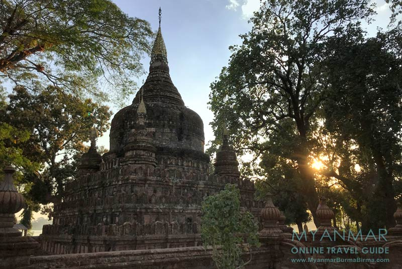 Myanmar Reisetipps | Toungoo | Pagode auf einer Insel im Kandawgyi-See