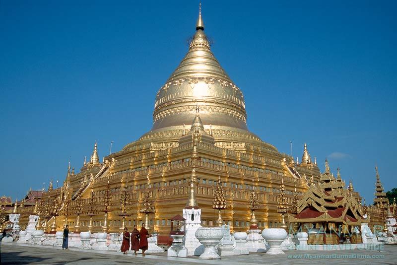 Myanmar Reisetipps | Bagan | Shwezigon-Pagode