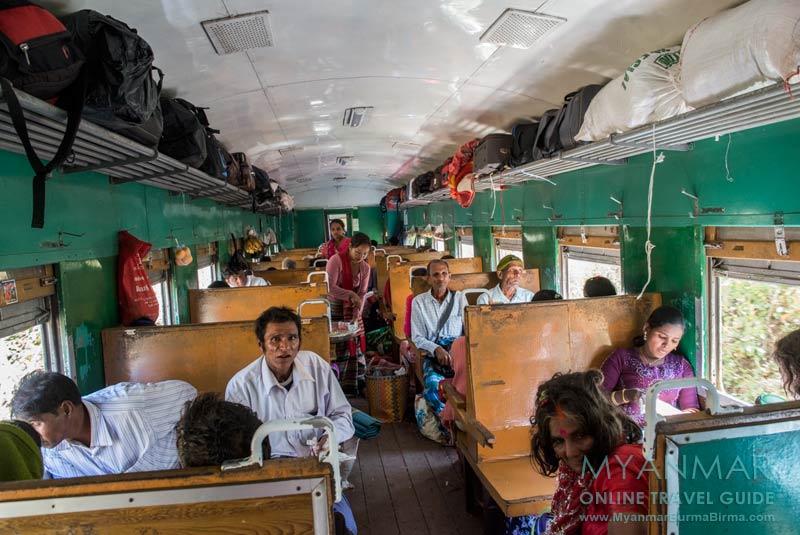 Myanmar Reisetipps | Mit dem Zug von Mandalay nach Hsipaw | Ordinary Class