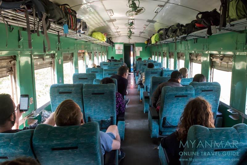 Myanmar Reisetipps | Mit dem Zug von Mandalay nach Hsipaw | Upper Class