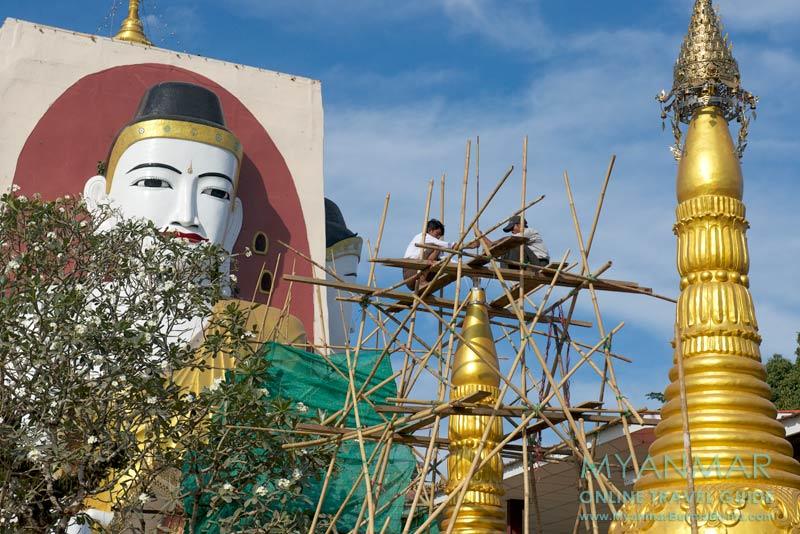 Myanmar Reisetipps | Bago | Kyaikpun-Pagode