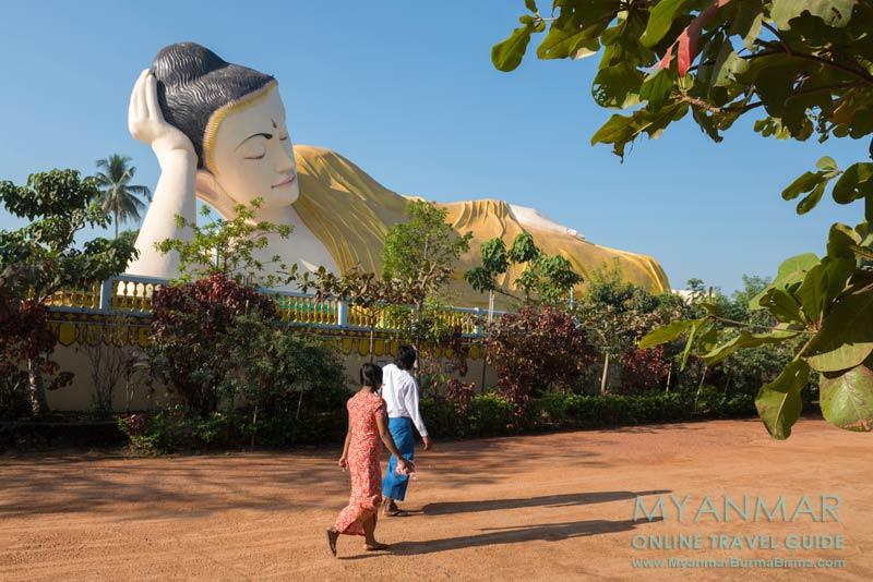 Myanmar Reisetipps | Bago | Liegender Buddha Naung Daw Gyi Mya Tha Lyaung