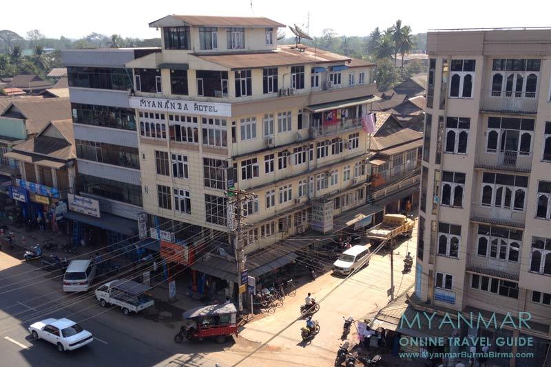 Myanmar Reisetipps | Bago | Mya Nanda Hotel