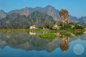 Myanmar Reisetipps | Hpa-an | Kloster Kyauk Ka Lat