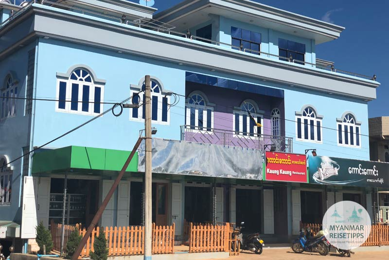 Myanmar Reisetipps | Pindaya | Kaung Kaung Restaurant