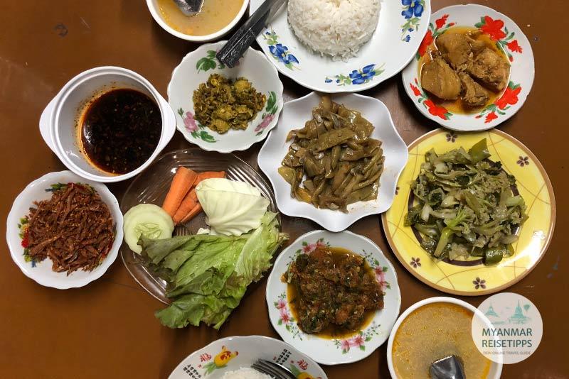 Myanmar Reisetipps | Pindaya | Ngwe Pin Ku Restaurant