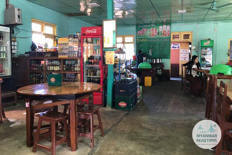 Myanmar Reisetipps | Pindaya | U Asake - Rice and Noodles Restaurant