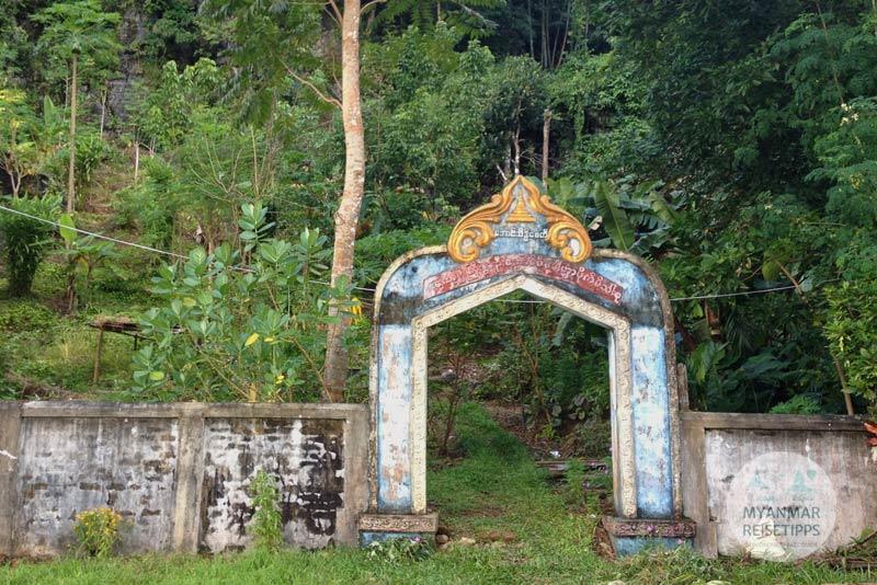 Myanmar Reisetipps | Hpa-an | Hier beginnt der Aufstieg zum Viewpoint