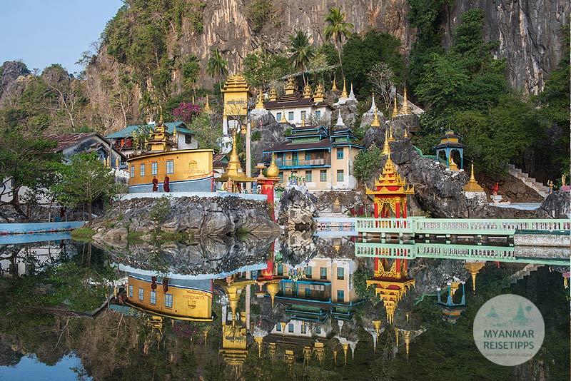 Myanmar Reisetipps | Hpa-an | Höhle Bayin Nyi