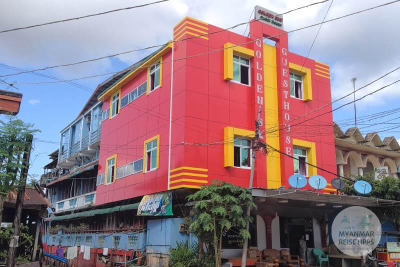 Myanmar Reisetipps | Hpa-an | Golden Sky Guesthouse