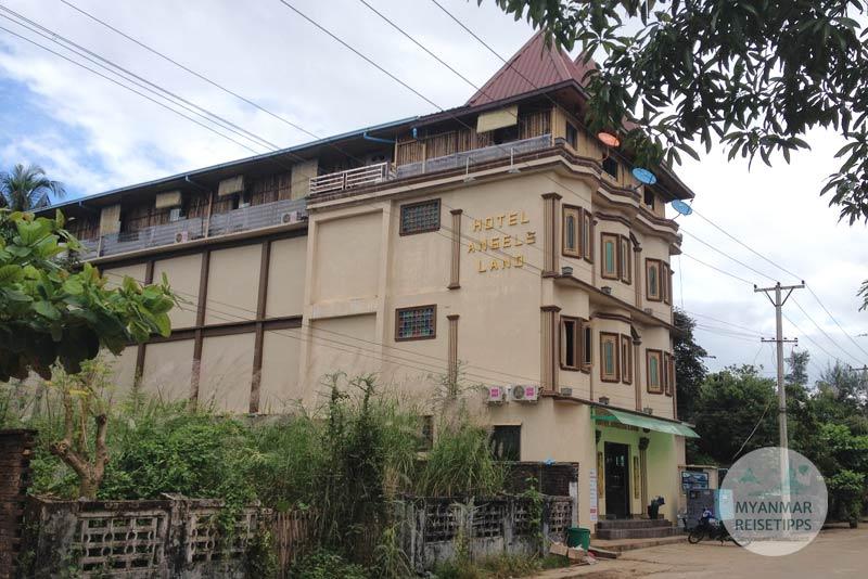 Myanmar Reisetipps   Hpa-an   Hotel Angels Land