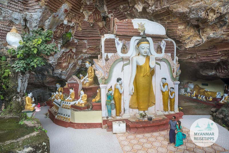 Myanmar Reisetipps | Hpa-an | Kawt-Gon-Höhle