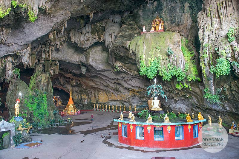 Myanmar Reisetipps | Hpa-an | Eingang in die Saddar-Höhle