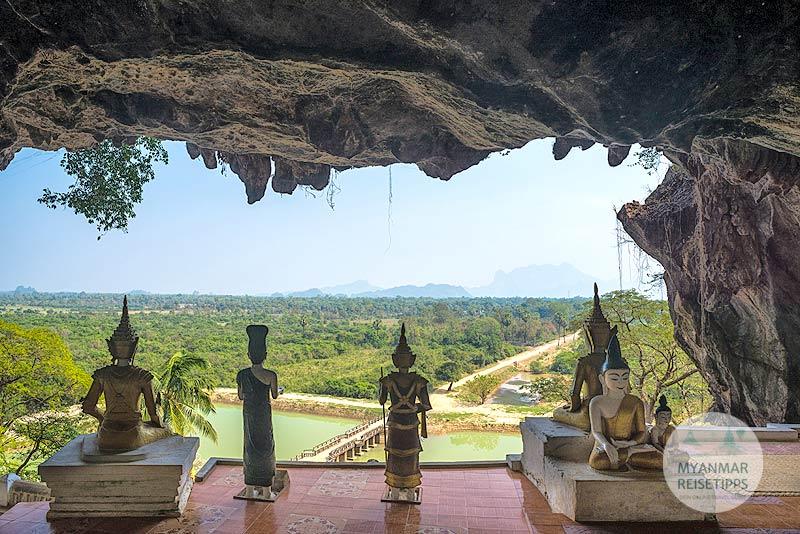 Myanmar Reisetipps | Hpa-an | Yathay-Pyan-Höhle