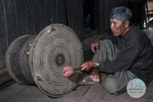Myanmar Reisetipps | Loikaw | Frog Drum: Symbol vom Kayah State