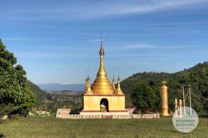 Myanmar Reisetipps | Loikaw | Buddhistische Pagode im Lisu-Dorf I-San