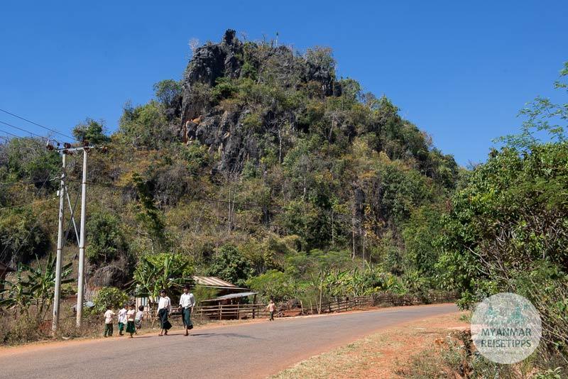 Myanmar Reisetipps | Loikaw | Auf dem Weg nach Pan Pet